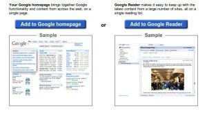 Add to Google Reader