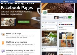 How do Facebook company/brand pages change 1st of April?